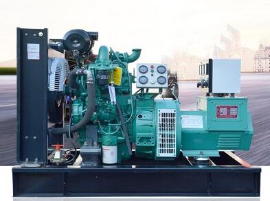 聊城全新上柴50kw大型柴油发电机组