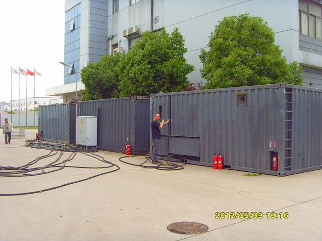 聊城集装箱二手发电机