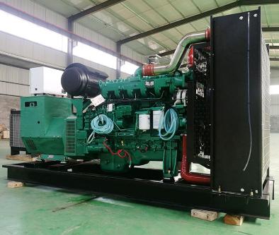 聊城陵城县泰豪500kw大型柴油发电机组