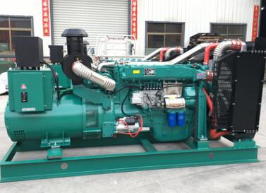 聊城二手 上柴300kw大型柴油发电机组