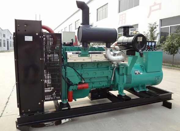 聊城东阿二手潍柴400kw大型柴油发电机组