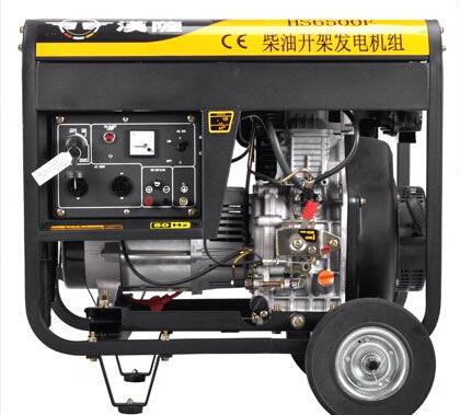 聊城东阿二手上柴5kw小型柴油发电机
